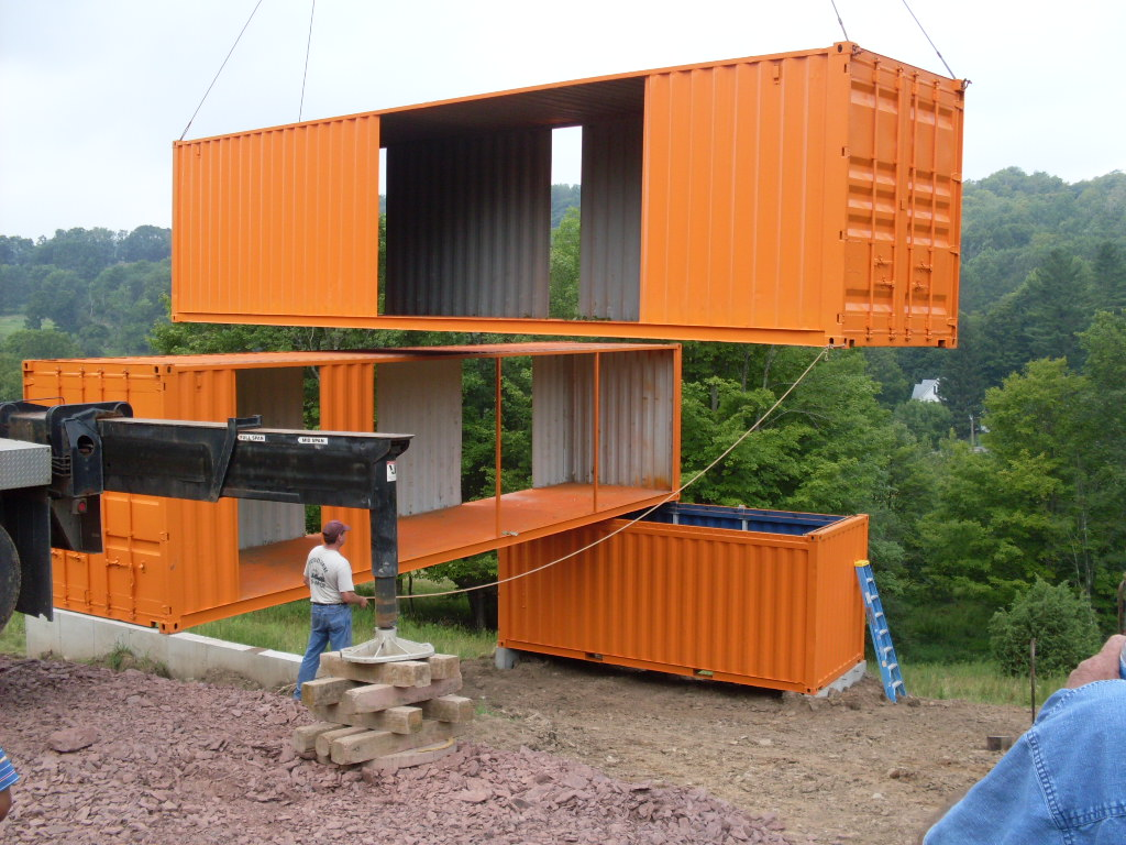 Container huis container huis bouwen container house container huizen zeecontainer huis - Huis in containers ...